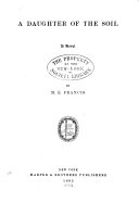 A Daughter of the Soil