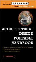 Pdf Architectural Design Portable Handbook Telecharger