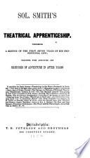 Sol  Smith s Theatrical Apprenticeship Book
