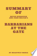 Summary of Bryan Burrough and John Helyar's Barbarians at the Gate