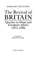 The Revival of Britain