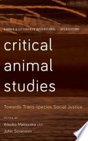 Critical Animal Studies Book