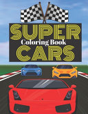 Super Cars Coloring Book