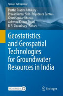 Geostatistics and Geospatial Technologies for Groundwater Resources in India