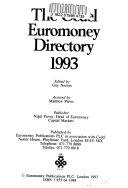 Cedel euromoney directory