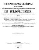 Recueil critique de jurisprudence et de législation