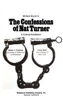 William Styron s The Confessions of Nat Turner