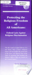 Protecting the Religious Freedom of All Americans