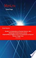 Exam Prep for: Bundle: An Introduction to Physical Science, ...