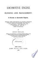 Locomotive Engine Running and Management