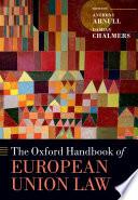 The Oxford Handbook Of European Union Law Book PDF
