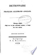 Vollständiges Handwörterbuch der deutschen, französischen und englischen Sprache ... Pdf/ePub eBook