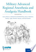 Military Advanced Regional Anesthesia and Analgesia Handbook