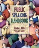 Public Speaking Handbook