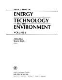 Encyclopedia of Energy Technology and the Environment