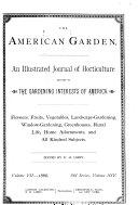 Pdf The American Garden