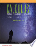 Calculus Early Transcendentals Single Variable  11th Edition