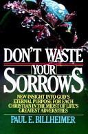 Don't Waste Your Sorrows