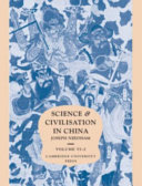 Science and Civilisation in China: Volume 6, Biology and Biological Technology, Part 2, Agriculture