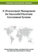 E-Procurement Management for Successful Electronic Government Systems Pdf/ePub eBook