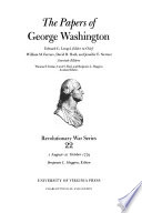 The Papers of George Washington: 1 August-21 October 1779