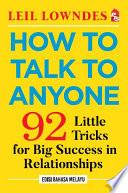How To Talk To Anyone Edisi Bahasa Melayu