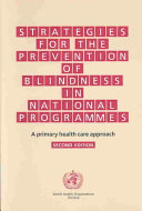 Strategies for the Prevention of Blindness in National Programmes ebook