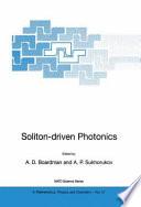 Soliton driven Photonics Book