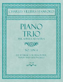 Piano Trio   Per Aspera Ad Astra   No 3 in A   Set to Music for Pianoforte  Violin and Violoncello   Op  158