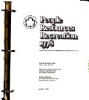 People  Resources  Recreation  1978