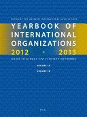 Yearbook of International Organizations 2012-2013