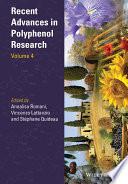 Recent Advances in Polyphenol Research Book