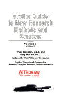 The Grolier Guide to New Research Methods and Sources