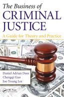 The Business of Criminal Justice Pdf/ePub eBook