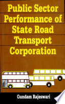 Public Sector Performance of State Road Transport Corporation Book