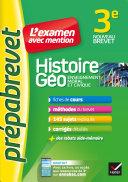 Pdf Histoire-géographie EMC 3e - Prépabrevet L'examen avec mention Telecharger