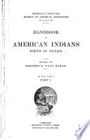 Handbook Of American Indians North Of Mexico A M