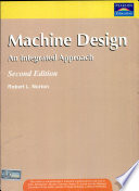 Machine Design: An Integrated Approach, 2/E