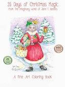 The Imaginary World of Jane F. Hankins, 25 Days of Christmas Magic 11 X14