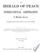 The Herald of Peace and International Arbitration Book