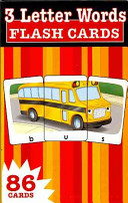 3 Letter Words Flash Cards Book PDF