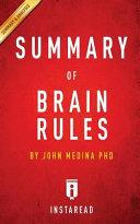 A 15 minute Summary   Analysis of Dr  John Medina s Brain Rules