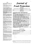 Journal of Food Protection Book