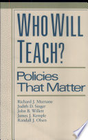 Who Will Teach