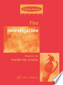 Fire Investigation Book