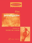 Pdf Fire Investigation