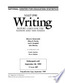 NAEP     Writing Report Card