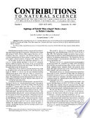 Contributions to Natural Science