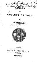 Chronicles of London Bridge