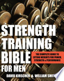 Strength Training Bible for Men